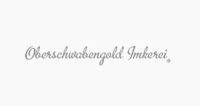 ALEKS UND SHANTU Kundenlogo oberschwabengold-imkerei grau