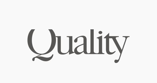 ALEKS UND SHANTU Kundenlogo quality-magazin grau