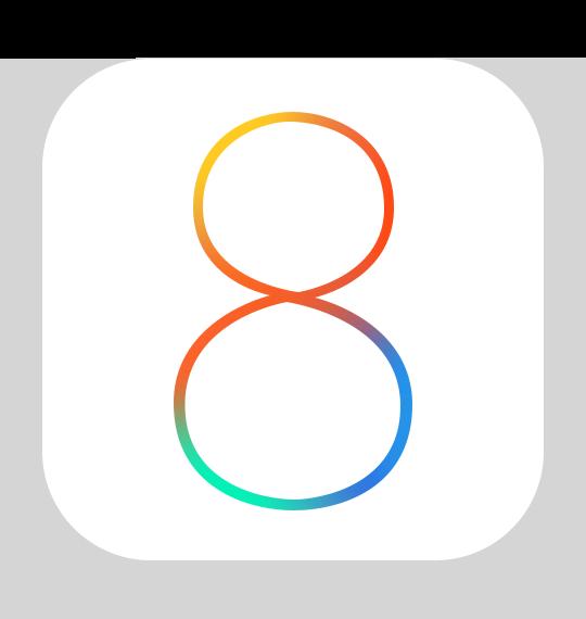 Offizielles Logo für ios8