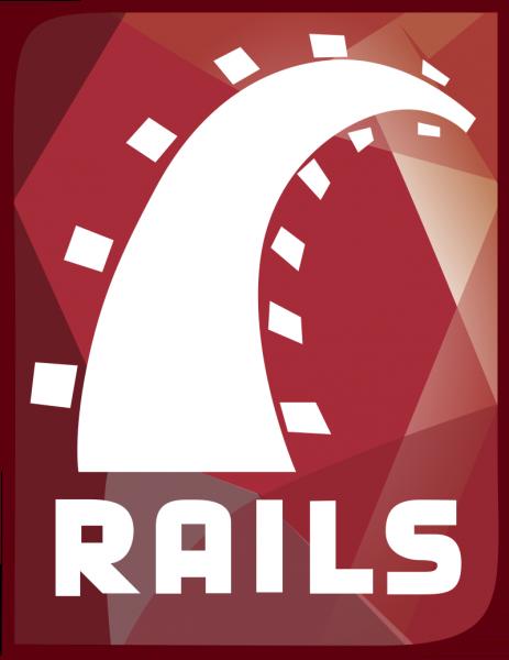 Offizielles Logo für Ruby on Rails