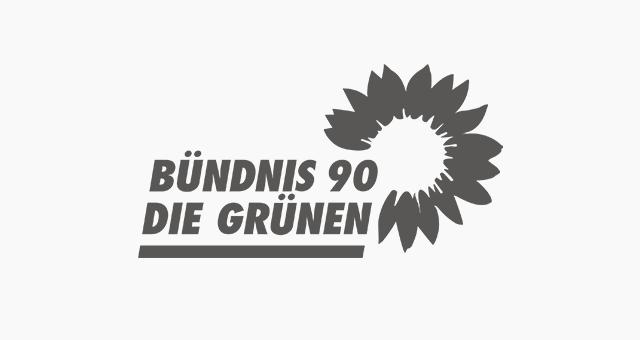 ALEKS UND SHANTU Kundenlogo Bündnis 90 die-gruenen grau