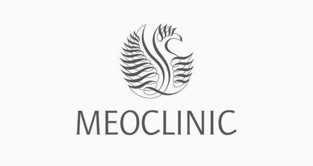 ALEKS UND SHANTU Kundenlogo meo-clinic grau