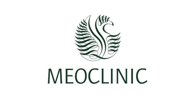 ALEKS UND SHANTU Kundenlogo meo-clinic farbe