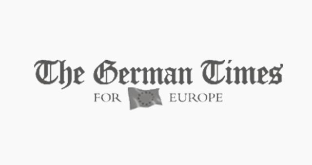 ALEKS UND SHANTU Kundenlogo the-german-times grau