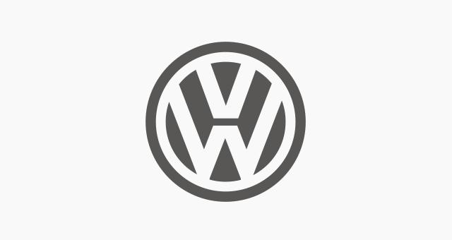 ALEKS UND SHANTU Kundenlogo Volkswagen grau