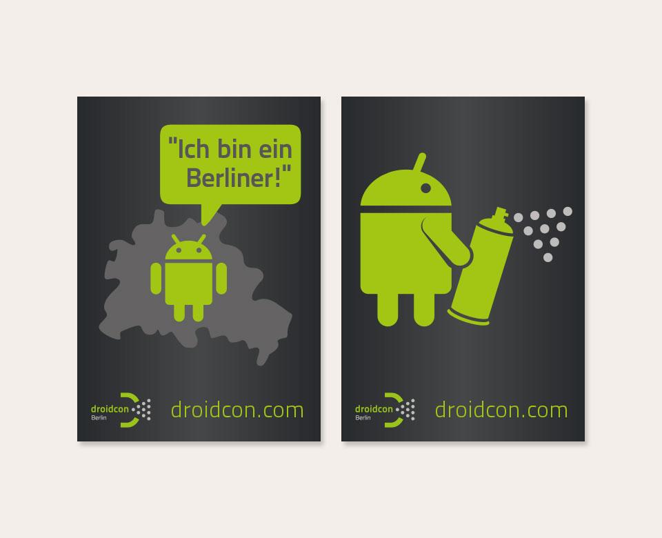 droidcon.com Berlin Poster Ich bin ein Berliner Droidcon