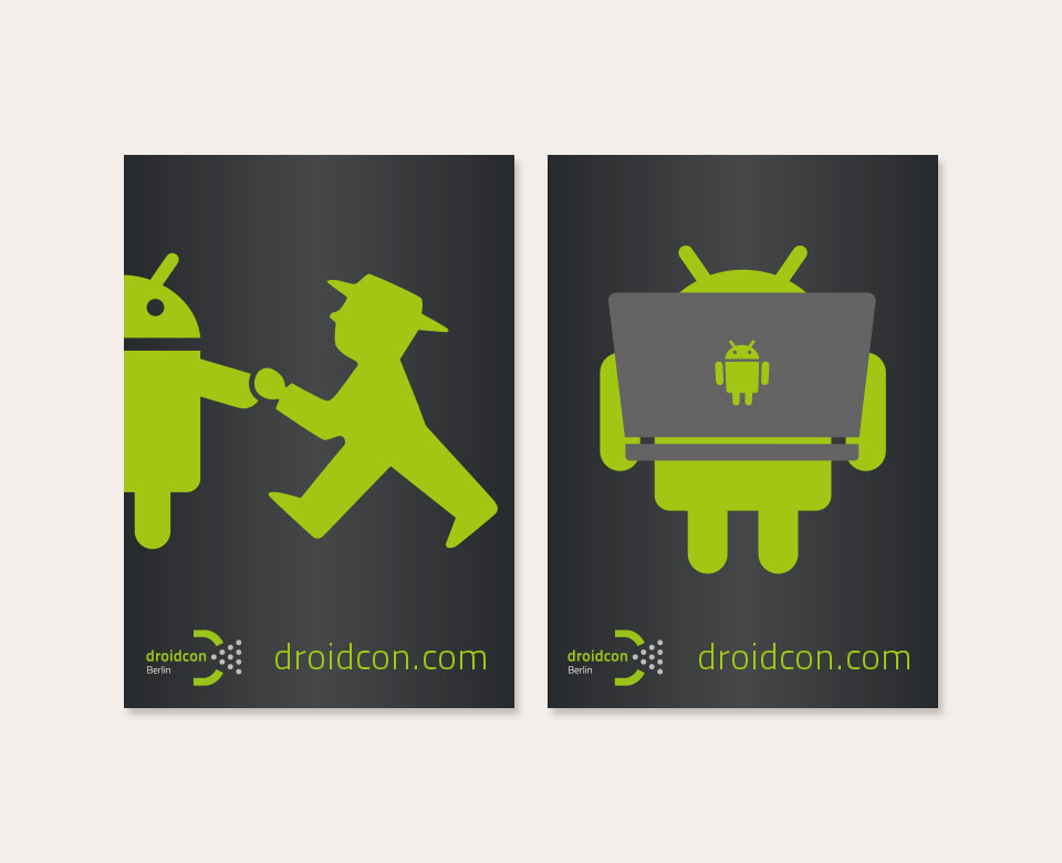 Droidcon Poster Detektiv Android