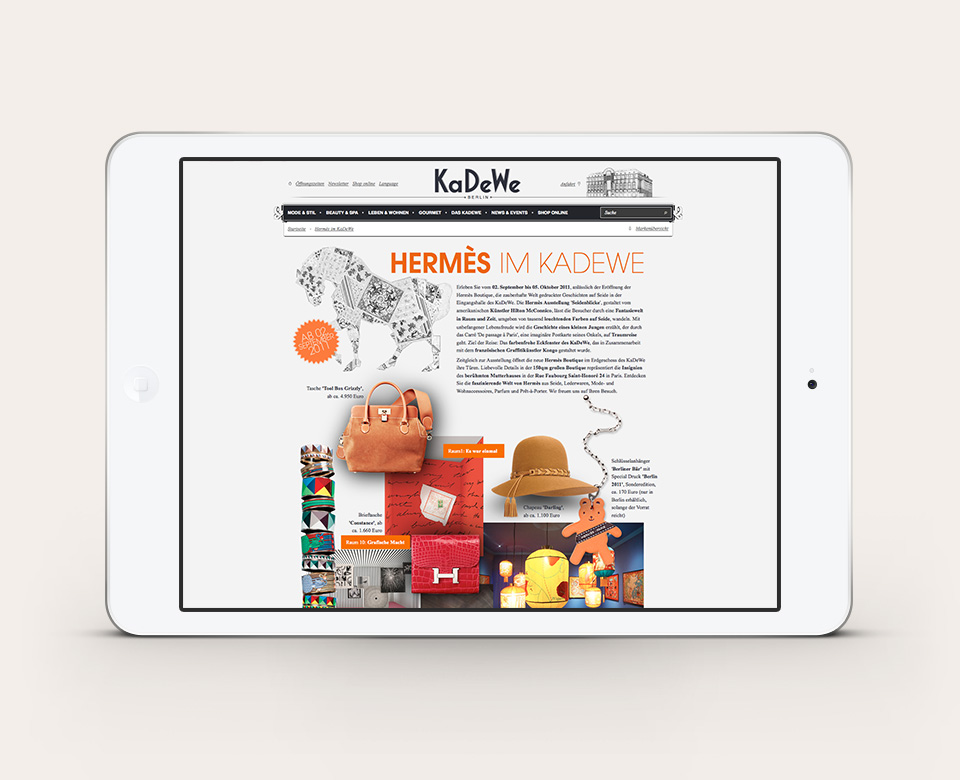 KaDeWe Hermès im Kadewe