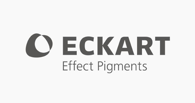 ALEKS UND SHANTU Kundenlogo Eckart Effect Pigments grau