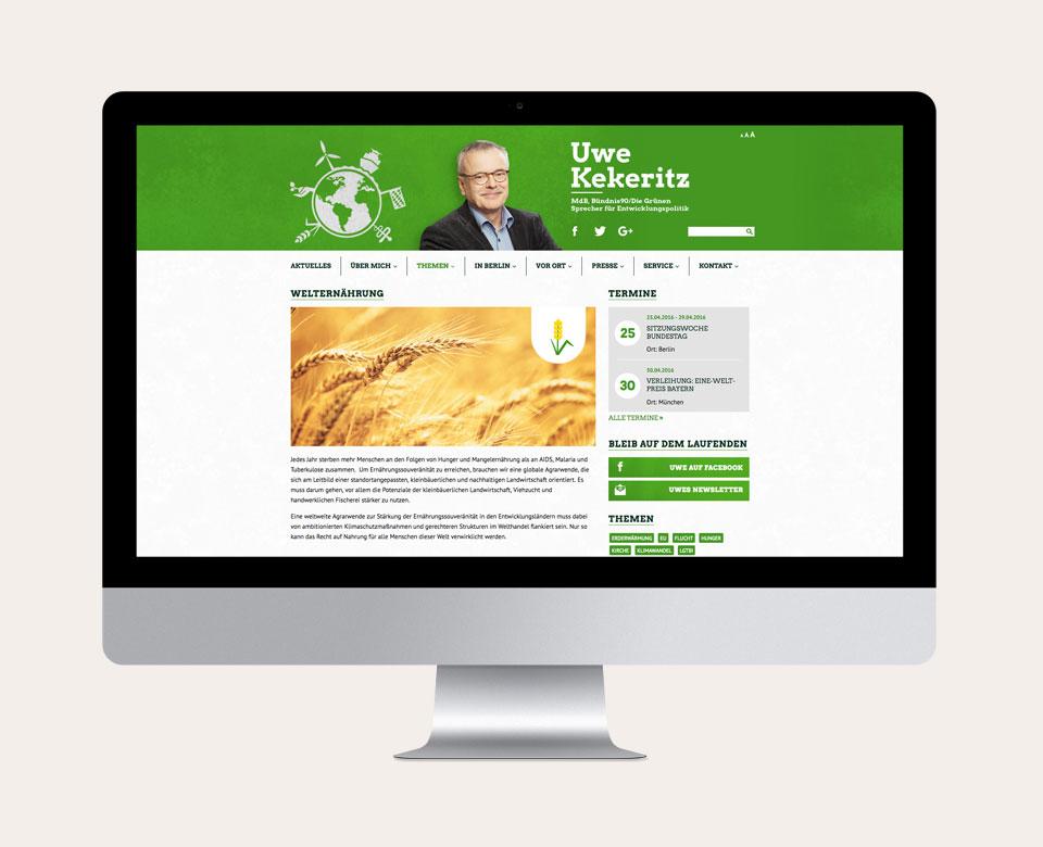 Uwe Kekeritz Themen Welternährung Mac Page