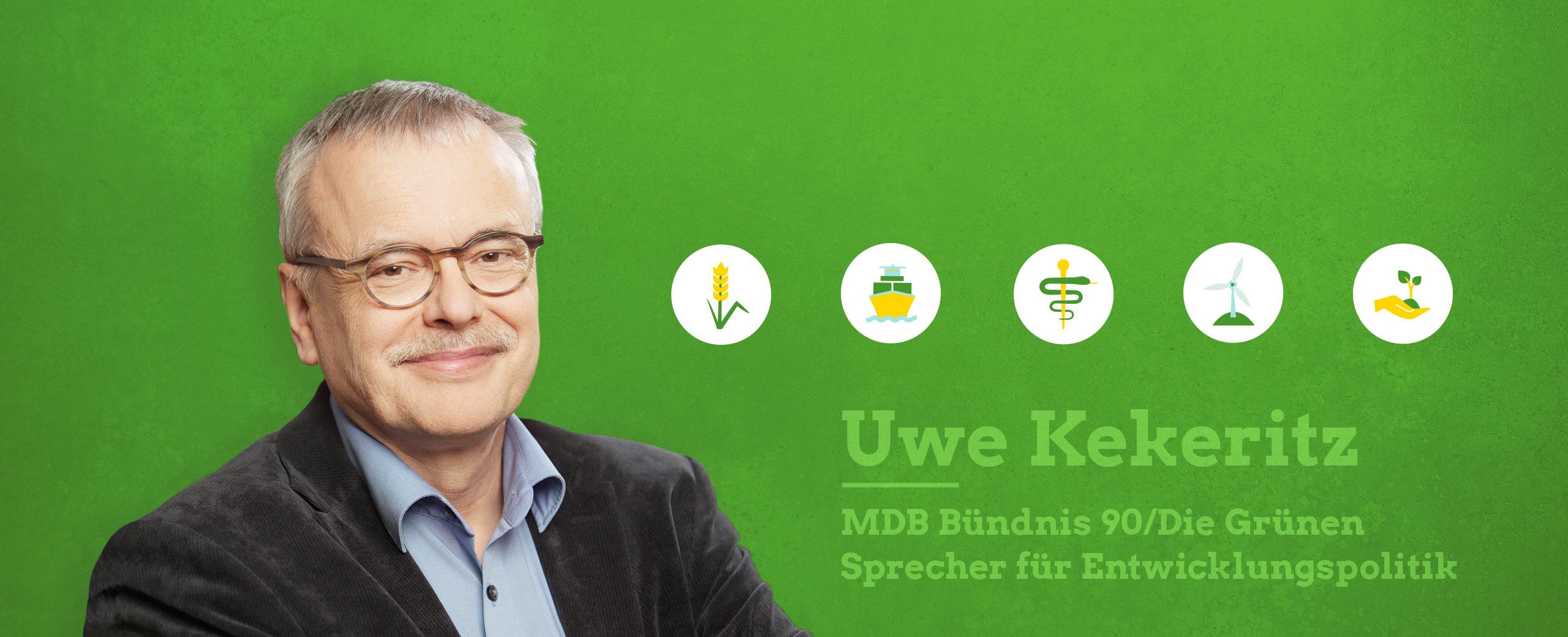 Uwe Kekeritz Portrait plus Webdesign