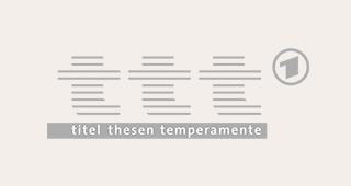 titel thesen temperamente (ttt) LOGO | TV-Tricks
