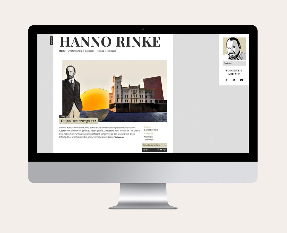 Hanno Rinke Desktop Blog