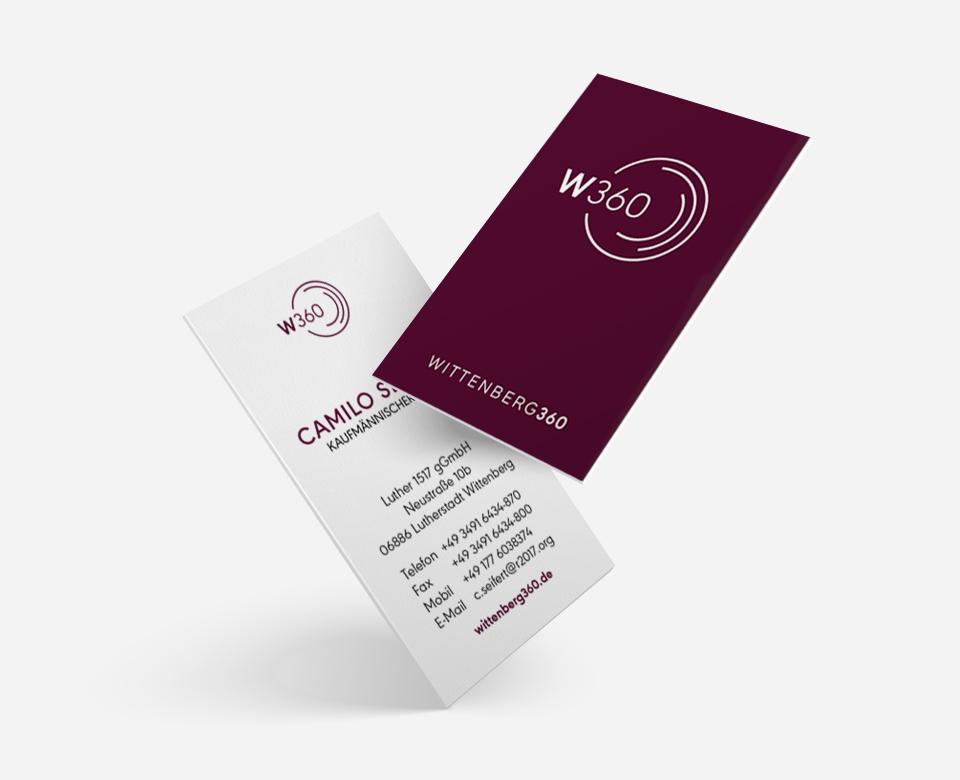 Visitenkarten w360