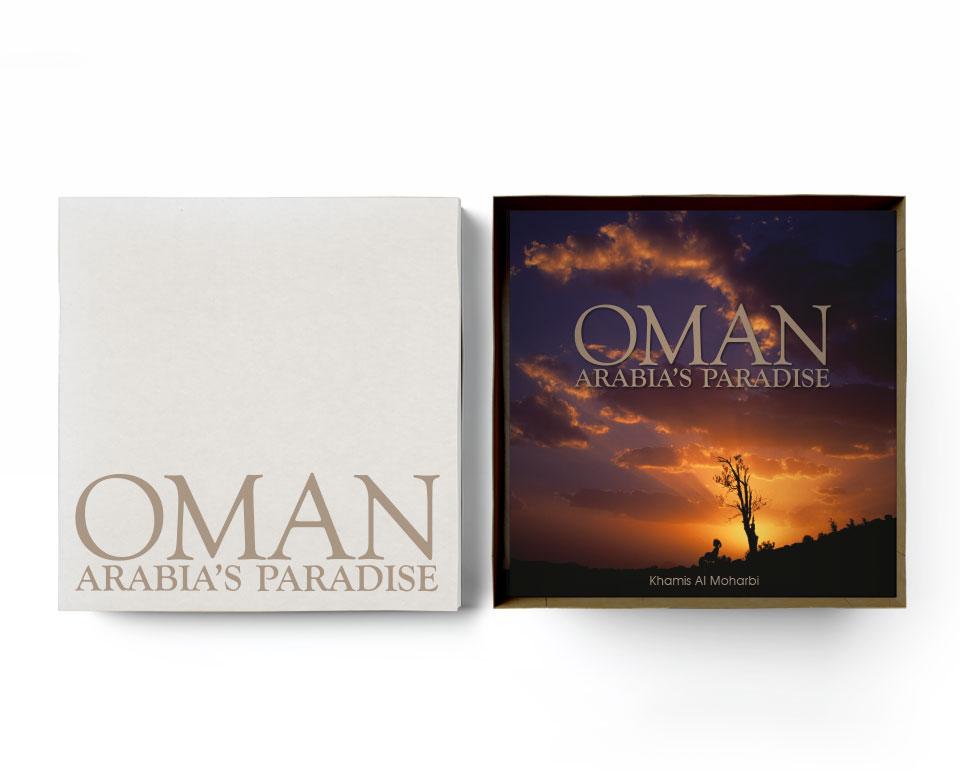 Oman Arabias Paradise Cover Ansicht - Sonnenuntergang