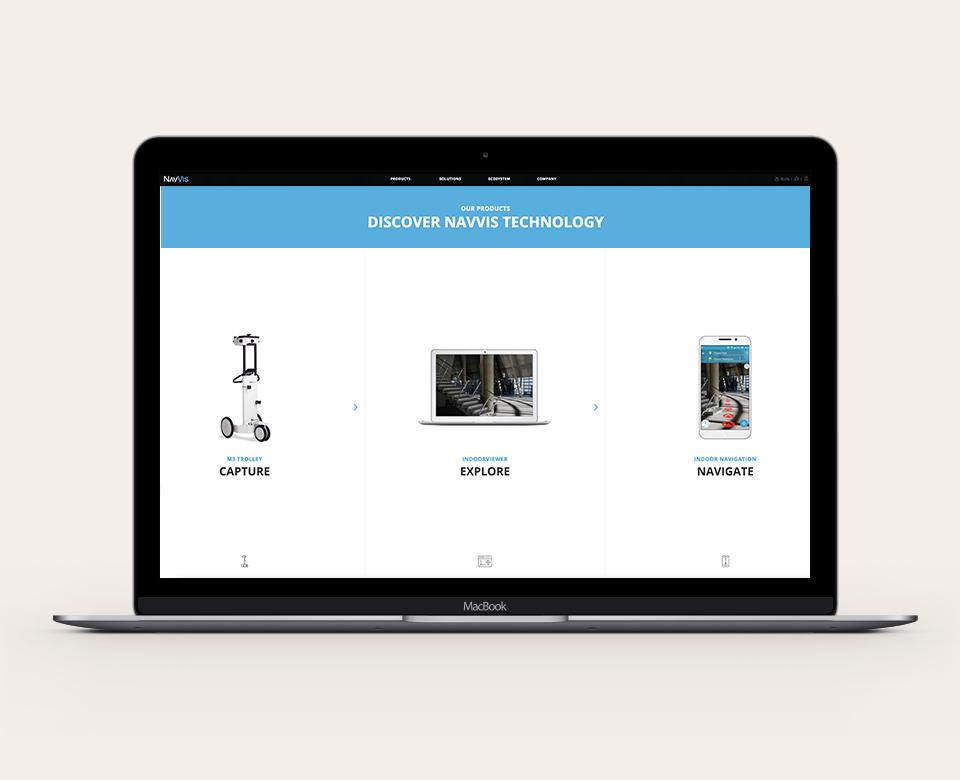 Mobile LaptopAnsicht - Discover Navvis Technology