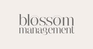 Logo Blossom Management | Kunden SEO Webentwicklung