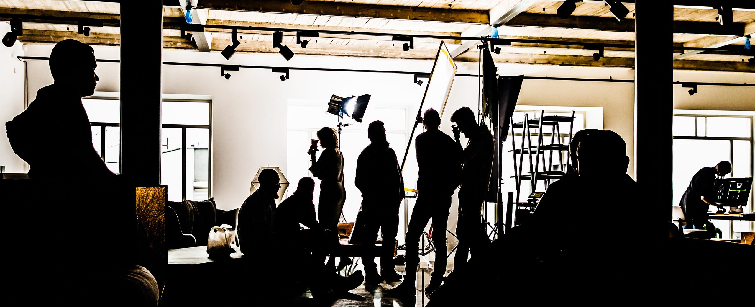 Foto Shooting Szenario bei Blossom Management GmbH