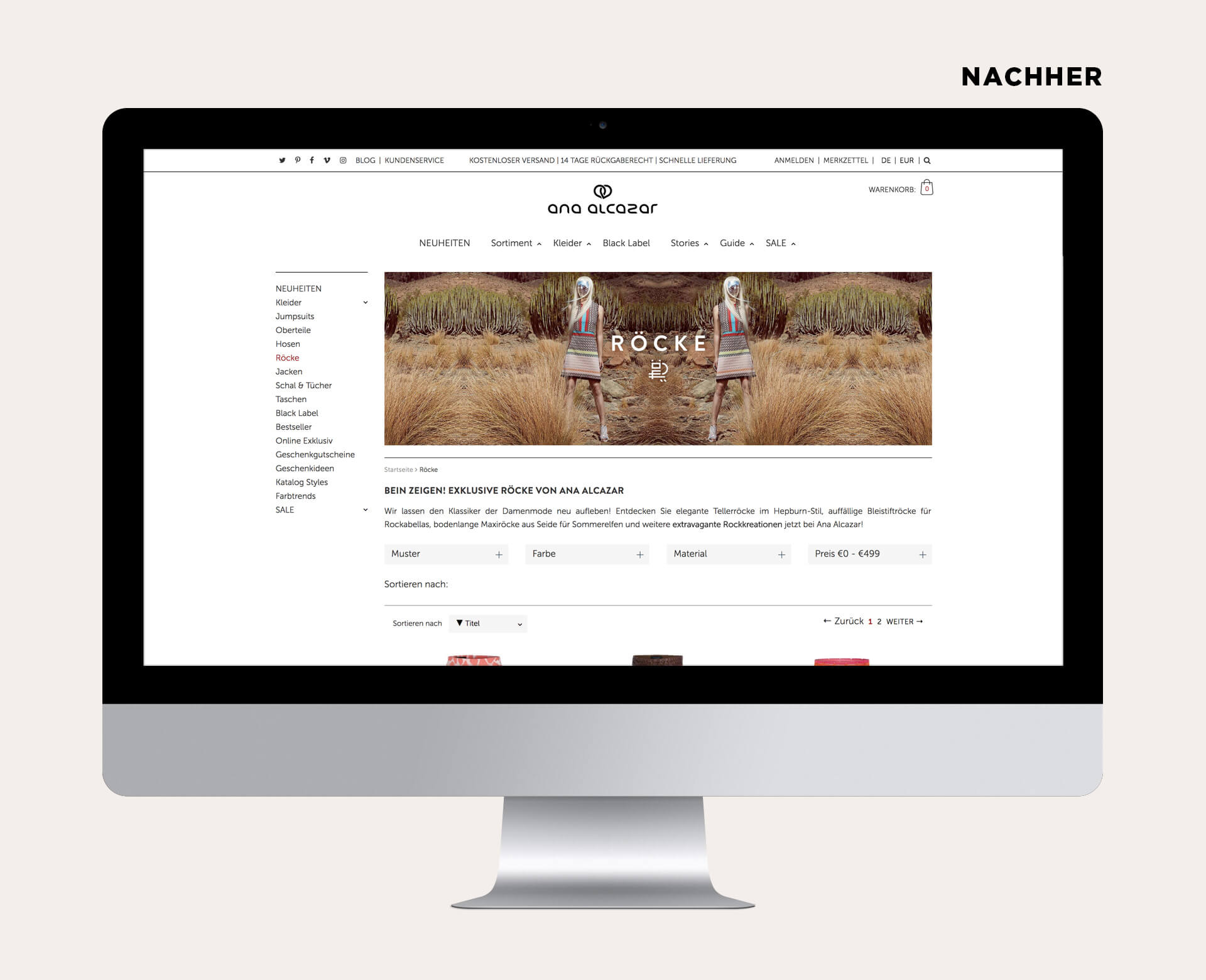 Abbildung Webseite neu