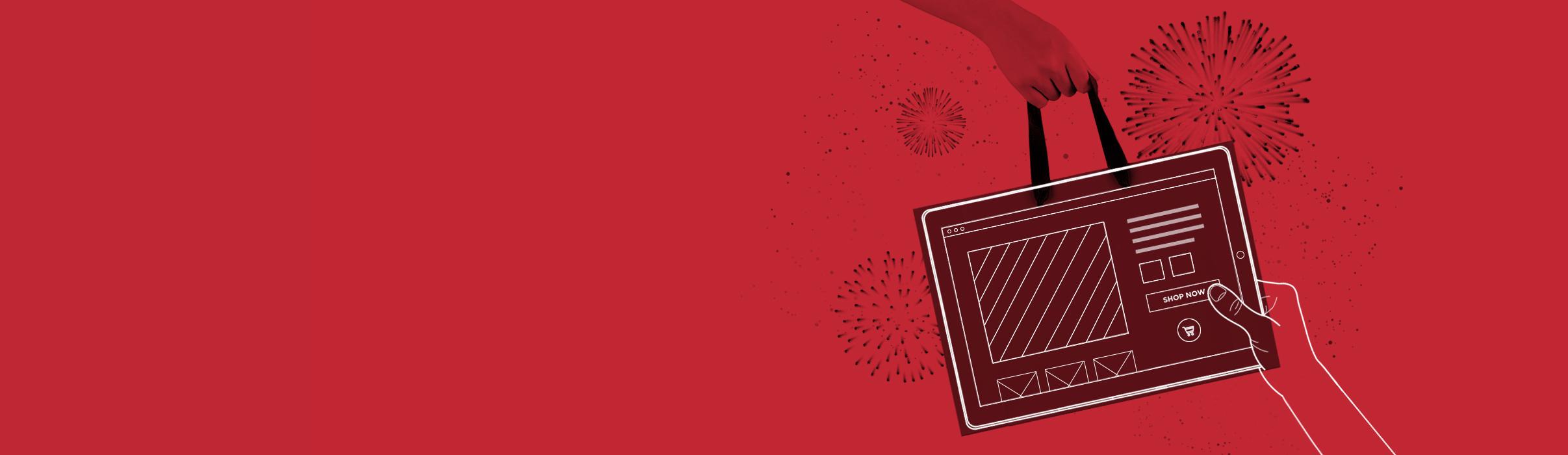 Aleksundshantu Titelbild Landingpage-ecommerce Rot schwarz