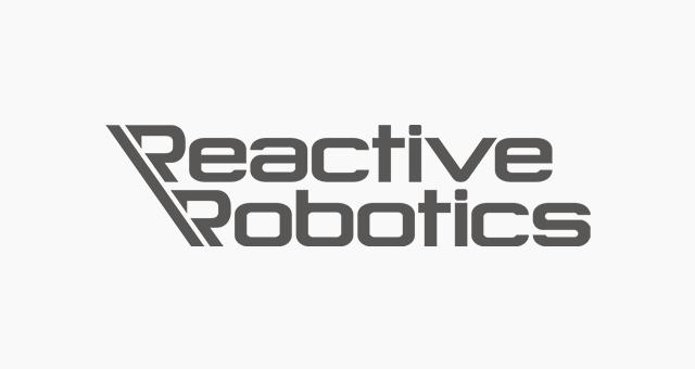 ALEKS UND SHANTU Kundenlogo Reactive Robotics grau