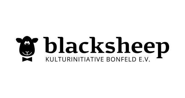 ALEKS UND SHANTU Kundenlogo blacksheep s/w