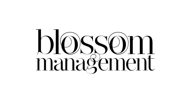 ALEKS UND SHANTU Kundenlogo blossom-managment s/w-