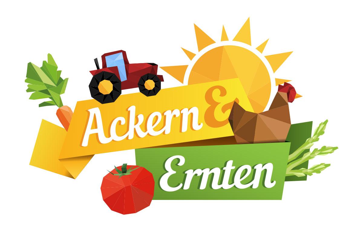Ackern & Ernten TV Logo Grafik