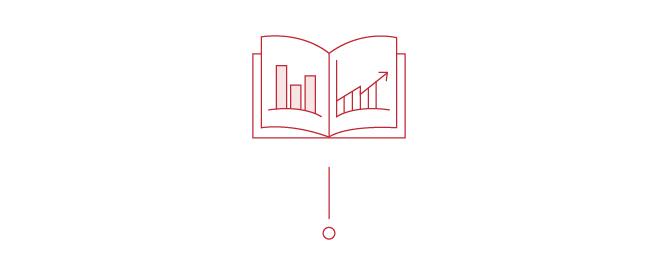 Broschüre Geschäftsbericht Illustration