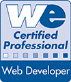 Webmasters Europe Web Developer Certificate