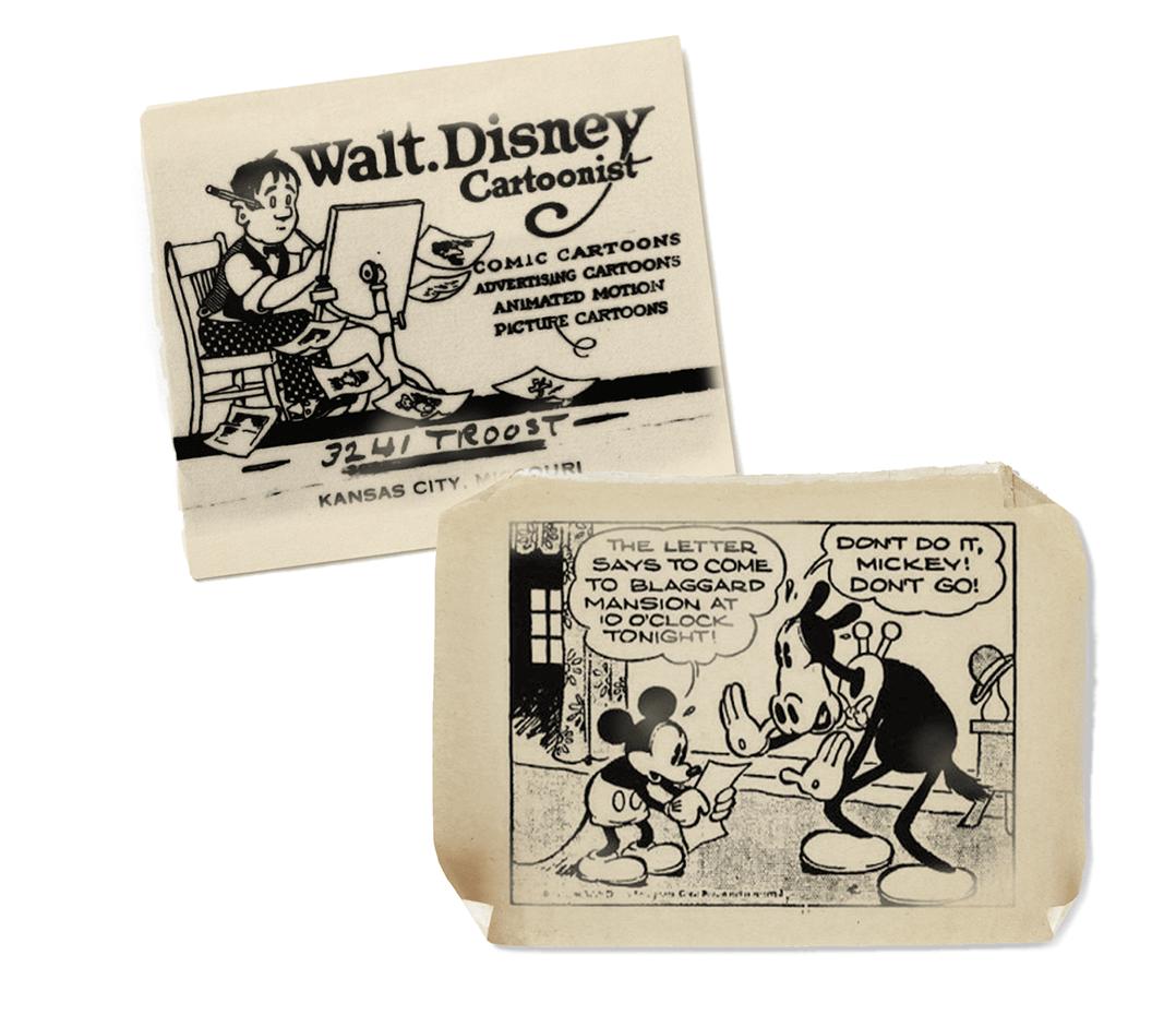 Beitragsbild historisches Comic von Walt Disney mikey mouse und Zeichner