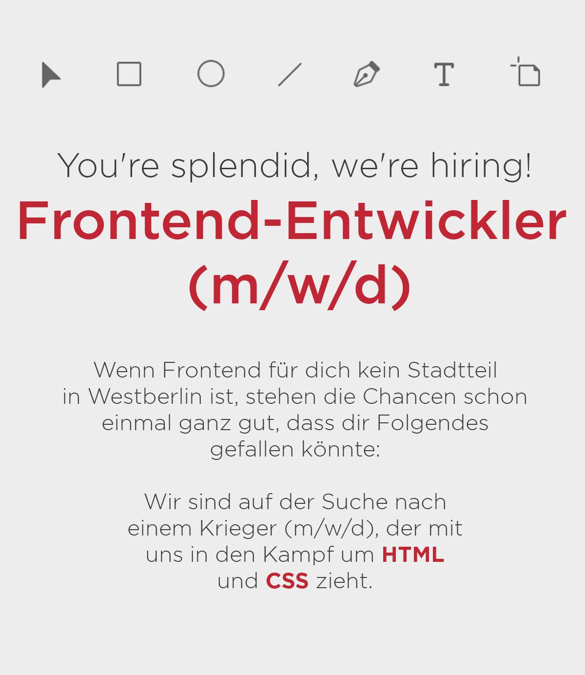 Stellenanzeige frontend-developer Entwickler ALEKSUNDSHANTU