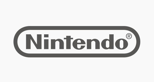 graues Logo von Nintendo