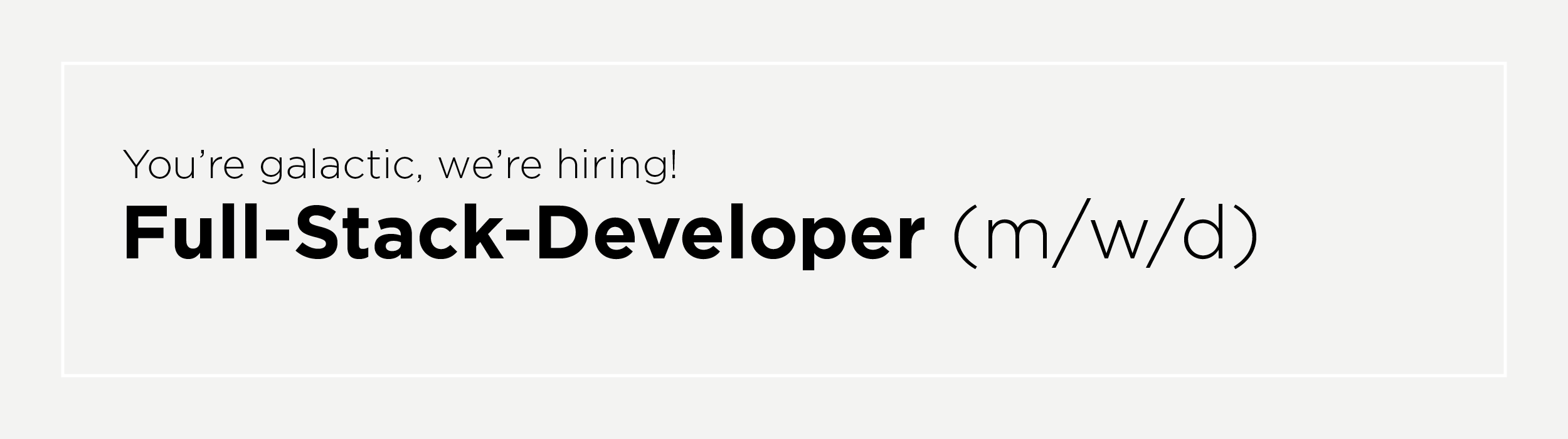 full-stack-developer (m/w/d)