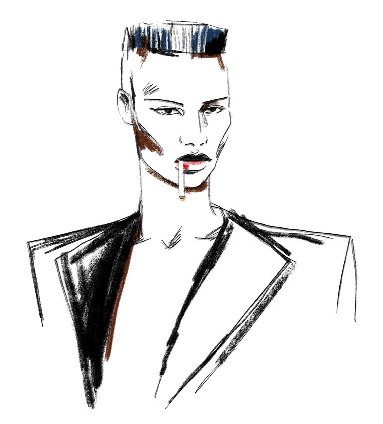 antonio-lopez-mode-illustration-grace-jones-portrait