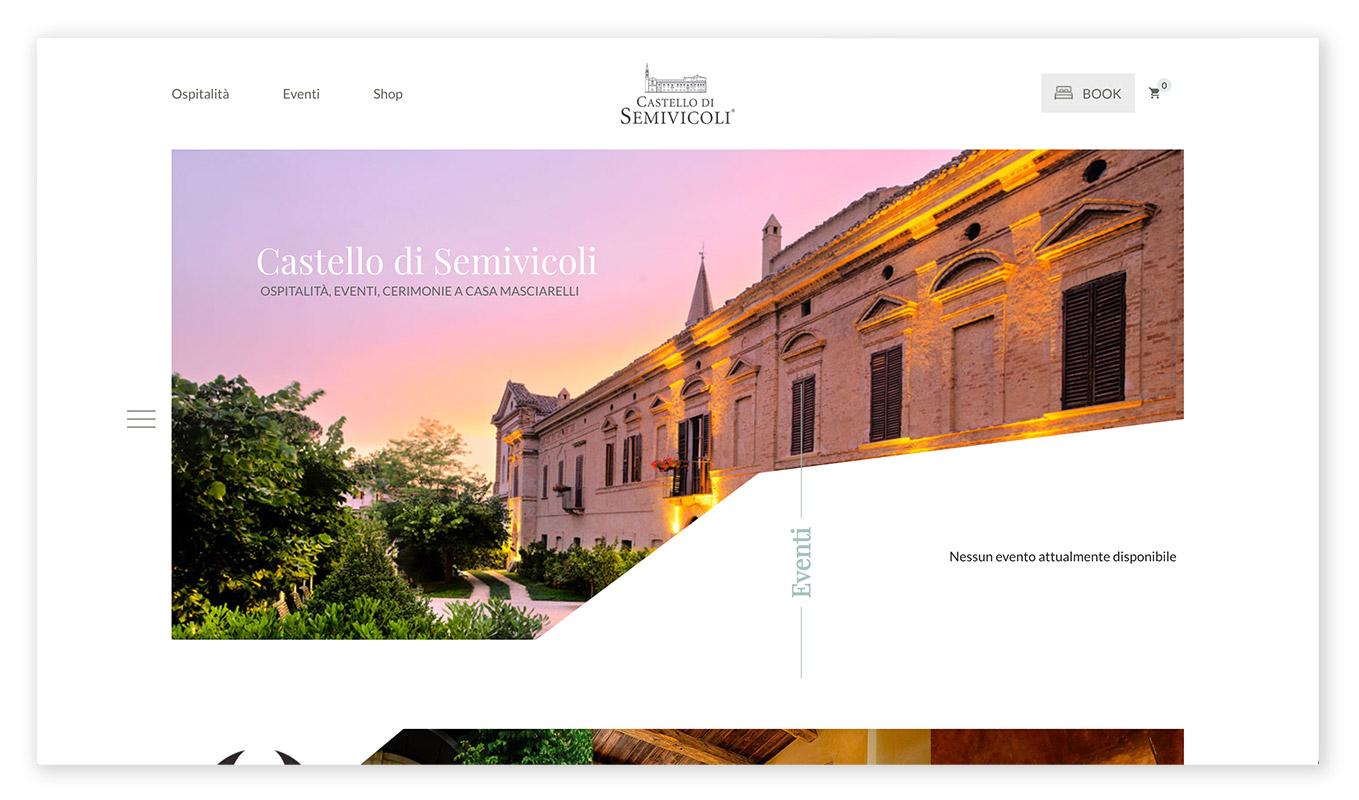 webentwicklung technische und visuelle webdesign trends - asymmetrisches design