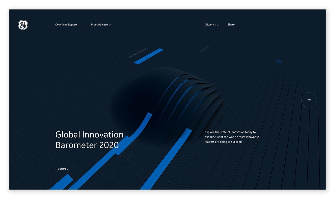 webentwicklung technische und visuelle webdesign trends - data-visualisation