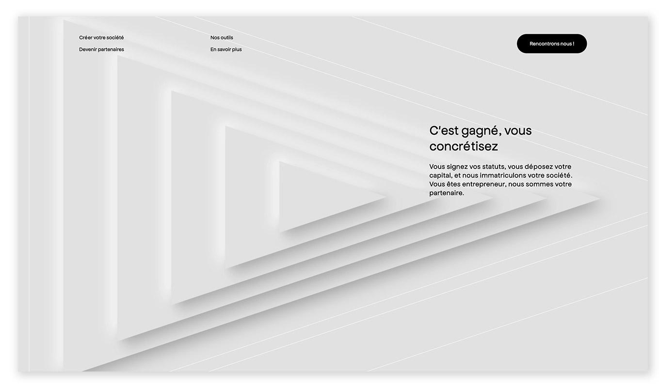 webentwicklung technische und visuelle webdesign trends - soft shadows floating