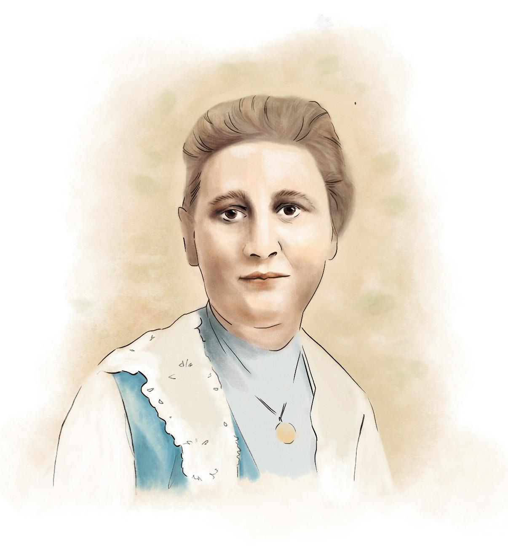 Beitragsbild Portrait der Illustratorin Beatrix Potter